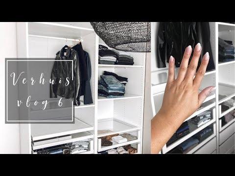 Verhuisvlog #6 - Ikea Pax Kasten indelen & bijna trouwen!