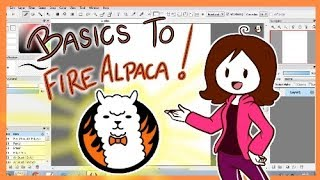 FireAlpaca Tutorial: The Basics