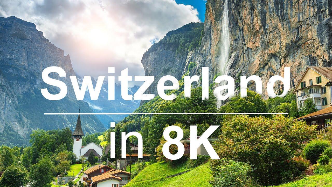 Switzerland in 8K ULTRA HD HDR - Heaven of Earth (60 FPS)