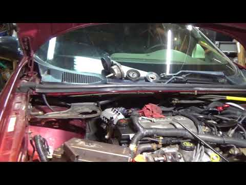 how to change alternator on 2004 pontiac montana