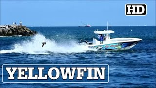 Yellowfin Center Console Running Out | FISH FRENSEA