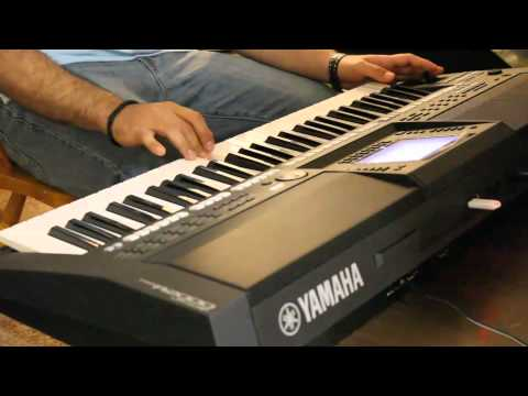 Leylim Ley - Ibrahim Tatlises - Yamaha PSR-A2000-يا ليلا - صابر الرباعي