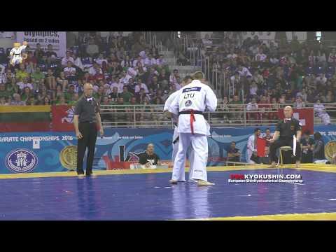 WKO EC 2016, 1/2 +85 Valeri Dimitrov (Bulgaria) - Edgard Seсinski (Lithuania, aka)