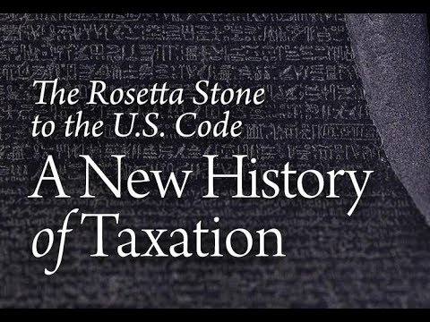 A New History Of Taxation, Lecture 1: The Making Of A Tax Historian | Charles Adams