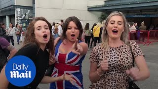 Fans in high spirits as Spice Girls kick off arena tour in Dublin