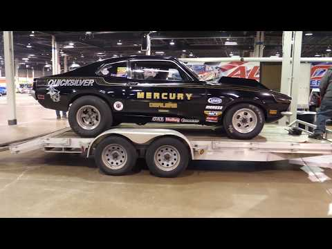 V8 Ford Maverick/Comet Mercury Dealers Drag Car BIG Cam Exhaust Sound World of Wheels Car Show 2019
