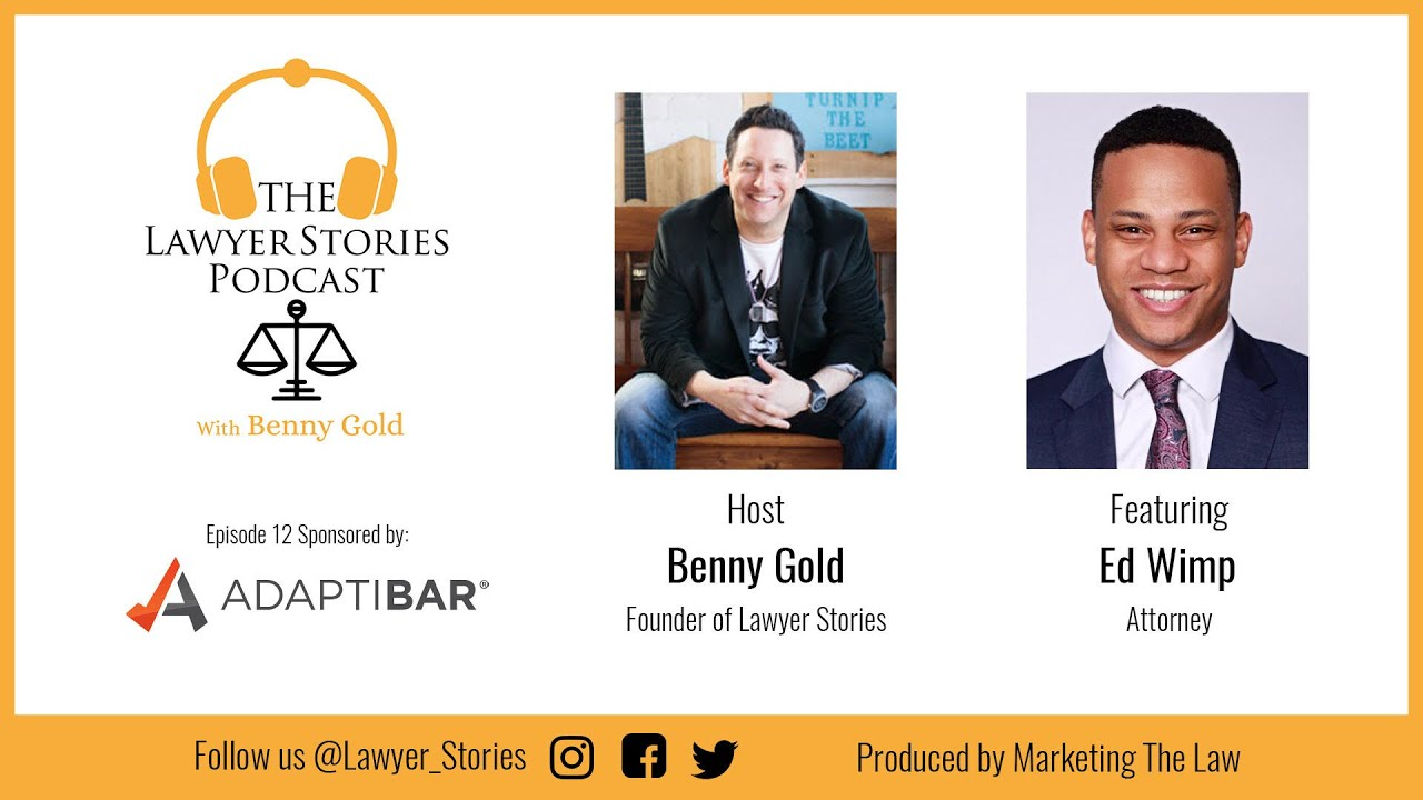 The Lawyer Stories Podcast Episode Twelve