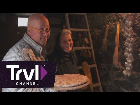 """Andrew Zimmern Sees Home Cooking in Croatia at its Finest on BIZARRE FOODS"""