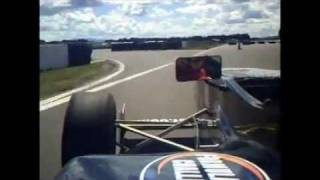 Single-seater racecar at Taupo Motorsport Park