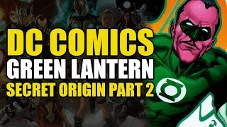 Green Lantern Hal Jordan and Sinestro's First Fight (Green Lantern Secret Origin Vol 2)