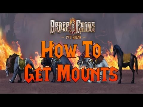 Order & Chaos Online - Update #7: How To Get Mounts