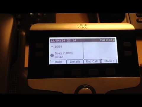 Cisco 7841 shared line multiple calls on hold