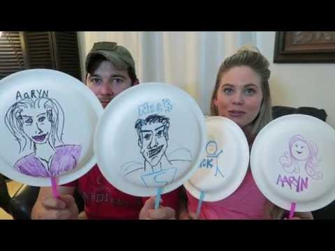 Mr & Mrs Challenge!  Aaryn & Nick Williams