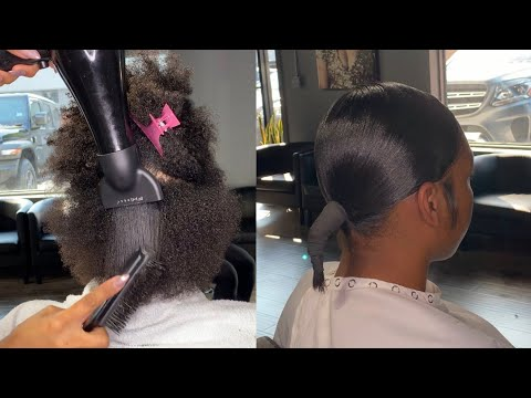 sleek-ponytail