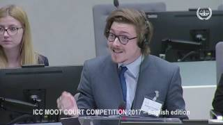 ICC Moot Court Competition 2017 -  English Edition, 19 May 2017 - Part 2