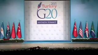 Cats take over the 2015 Turkey G20 Antalya Summit stage