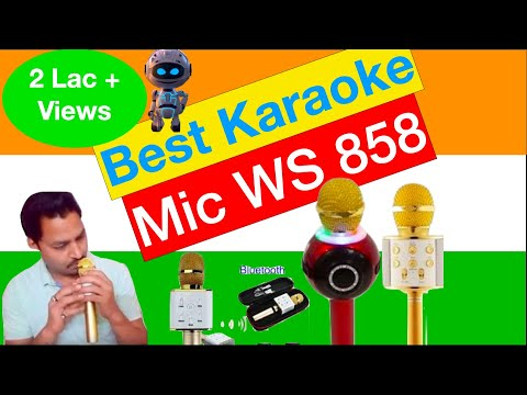 Karaoke Mic ws858 Review by Urmil Arya