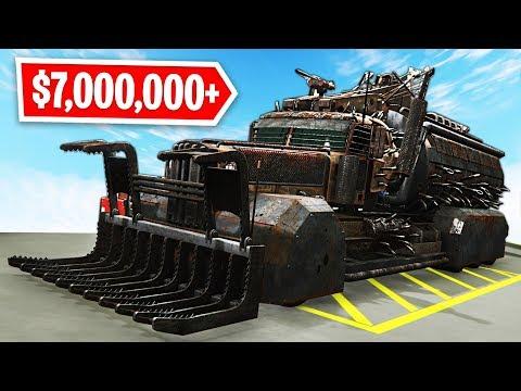 GTA 5 Arena War Update - NEW $7,000,000 APOCALYPSE TRUCK Spending Spree!! (GTA 5 Online DLC Update)
