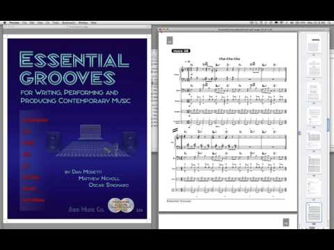 How to Use the Essential Grooves Book (Dan Moretti)