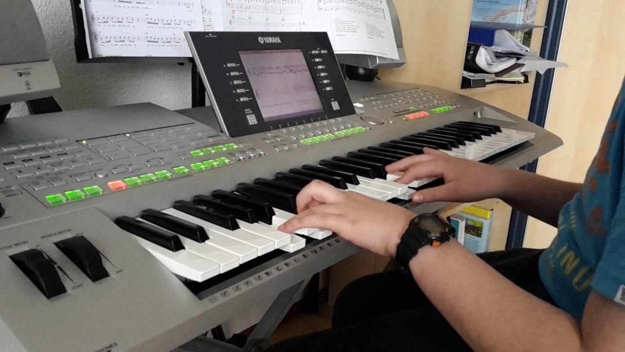 Holz auf Keyboard