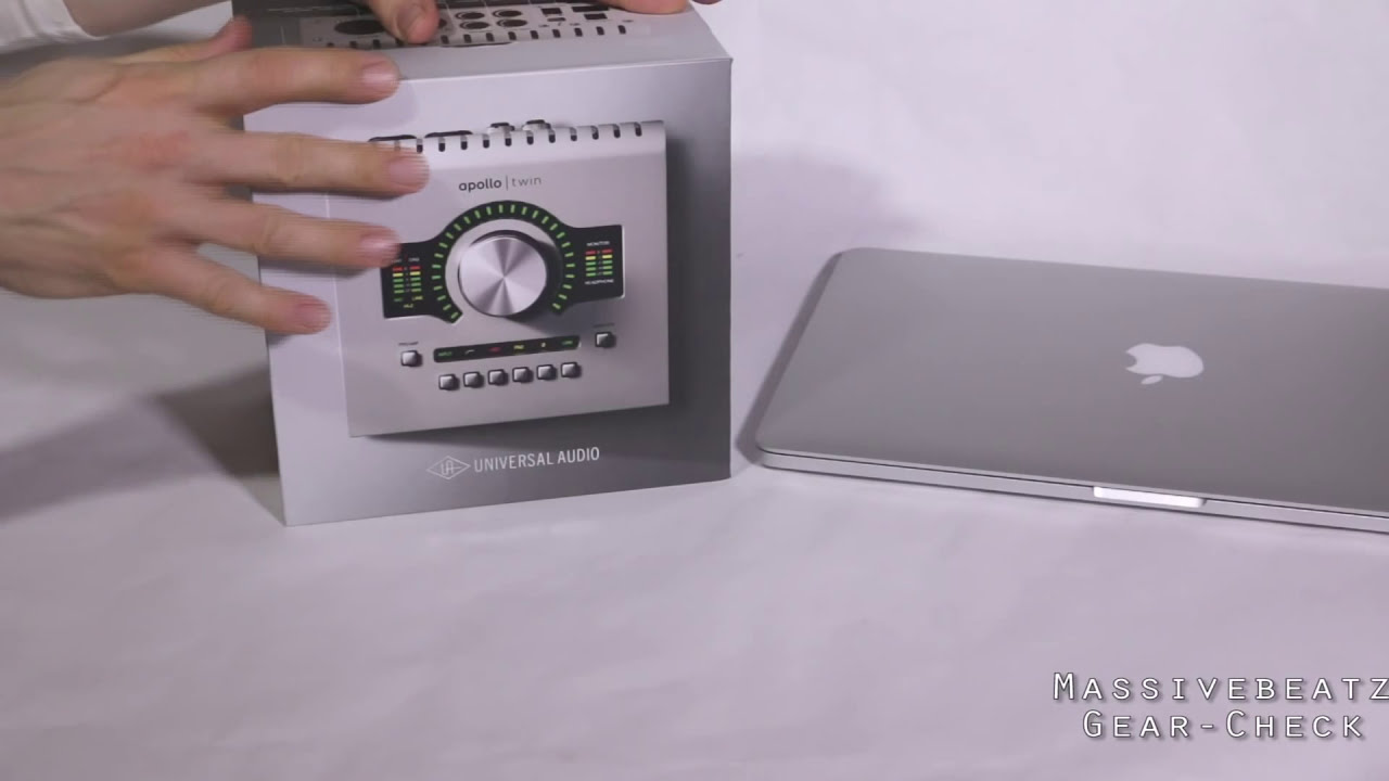universal audio apollo twin unboxing analysis new 2014 thunderbolt audio interface youtube. Black Bedroom Furniture Sets. Home Design Ideas