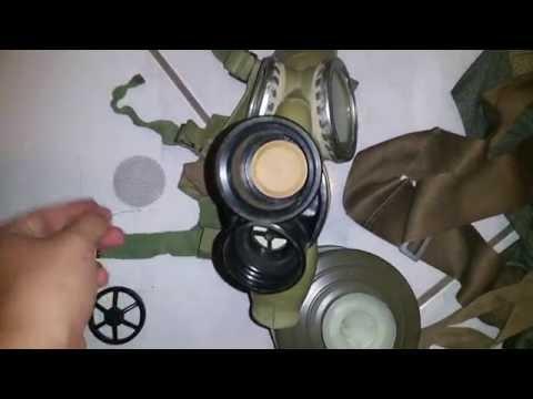 Gas Mask Guys: a look at the  Polish MC1 kit
