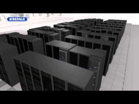 Data Centre Cooling - Airedale OnRak 3-33kW Server Rack Cooling