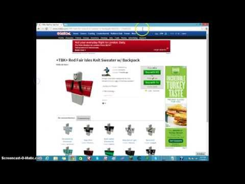 How to get free pants on roblox 2016 doovi for Roblox how to copy shirts