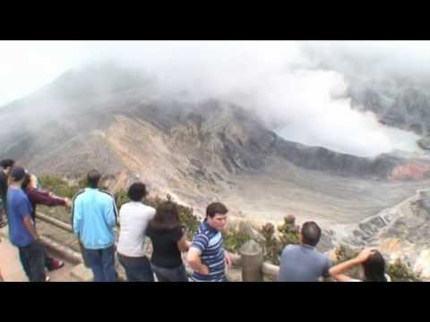 Most Spectacular Volcano Crater in Costa Rica