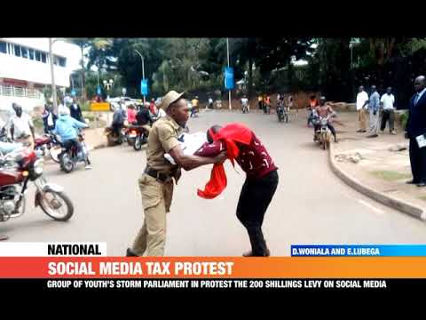#PMLive: Two Arrested in Kampala as they Protested Over New Social Media Taxes