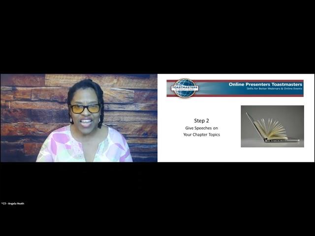 First Place 2021 Webinar Contest: Angela Heath,