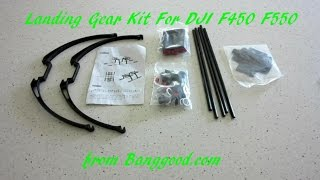 Landing Gear Kit For DJI F450 F550 Multicopter from Banggood.com