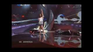 Sirusho - Qele Qele (Eurovision 2008 - Armenia) Broadcasting by ERT