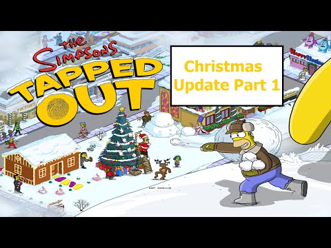 The Simpsons Tapped Out (Christmas 2015!) All items