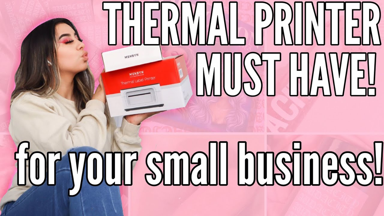 Entrepreneur Life 28: THERMAL PRINTER MUST HAVE + GIVEAWAY + PACKAGE ORDERS WITH ME!