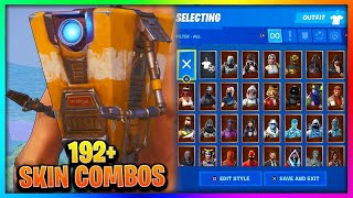 "Before You Buy ""CLAPTRAP"" - All Skin Combinations In Fortnite (192+ Skins)"