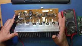 ремонт ресивера BBK AV210T. Залит жидкостью. Часть 1