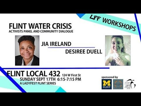 Flint Water Crisis Activist Panel and Community Dialogue LFF
