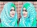 হিজাব স্টাইল - Comfortable  Side Layered Hijab Style