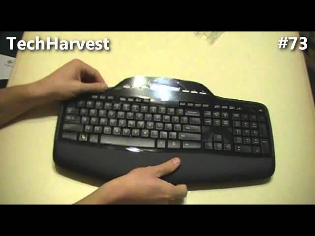9ccedc36aad Unboxing: Logitech Wireless Desktop Keyboard & Mouse MK700 - YouTube
