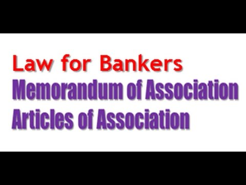 www memorandum of association