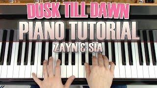 "Video ""Dusk Till Dawn"" - Piano Tutorial + Sheet Music - ZAYN & Sia   George Vidal download MP3, 3GP, MP4, WEBM, AVI, FLV April 2018"