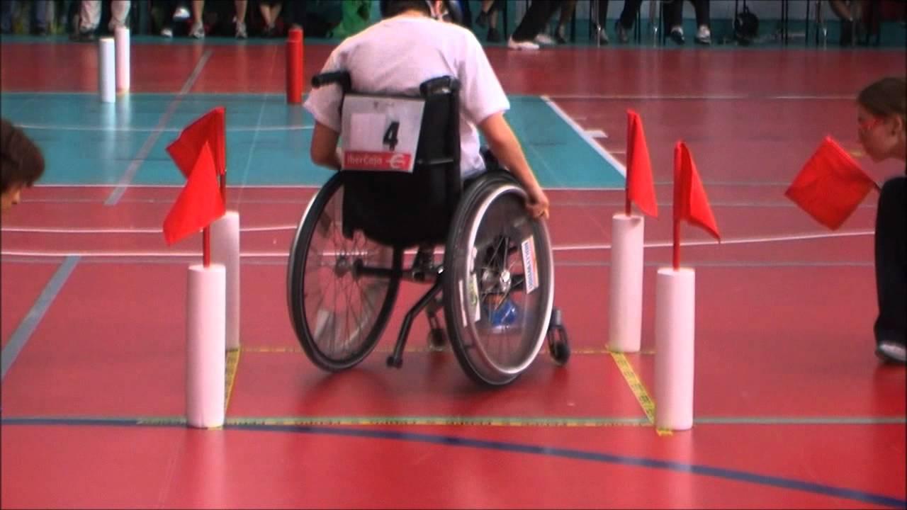 Slalom el videojuego un deporte real youtube - Deportes en silla de ruedas ...