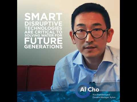 One Minute in Water with Xylem's Al Cho Al Cho tells us how digital innovation and industry talent is shaping the future of water. Watch more from...