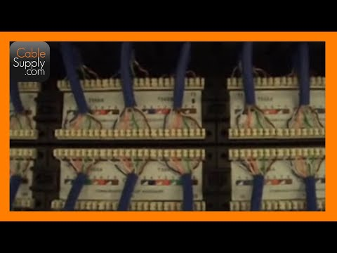 Installing Cable and Terminating a Patch Panel (Part 4 of 4)