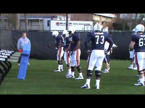 Auburn Spring Practice 6--Offense