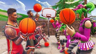 BASKETBALL MODE IN FORTNITE..?!! | Fortnite Funny and Best Moments Ep.130 (Fortnite Battle Royale) thumbnail