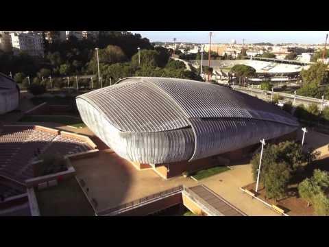 Riprese aeree con droni Auditorium Parco della Musica - Roma