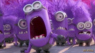 Purple Minion Angry Moment - Despicable me (2013) Hd