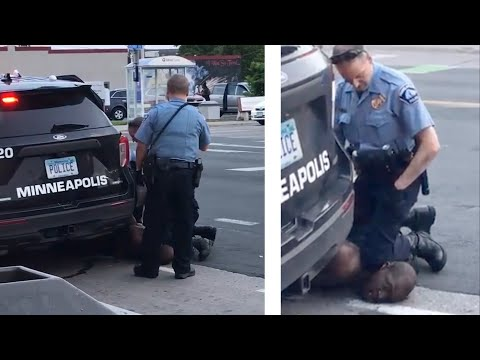 'I Can't Breathe:' Death Of Unarmed Black Man George Floyd Leads To Firing Of White Police Officers